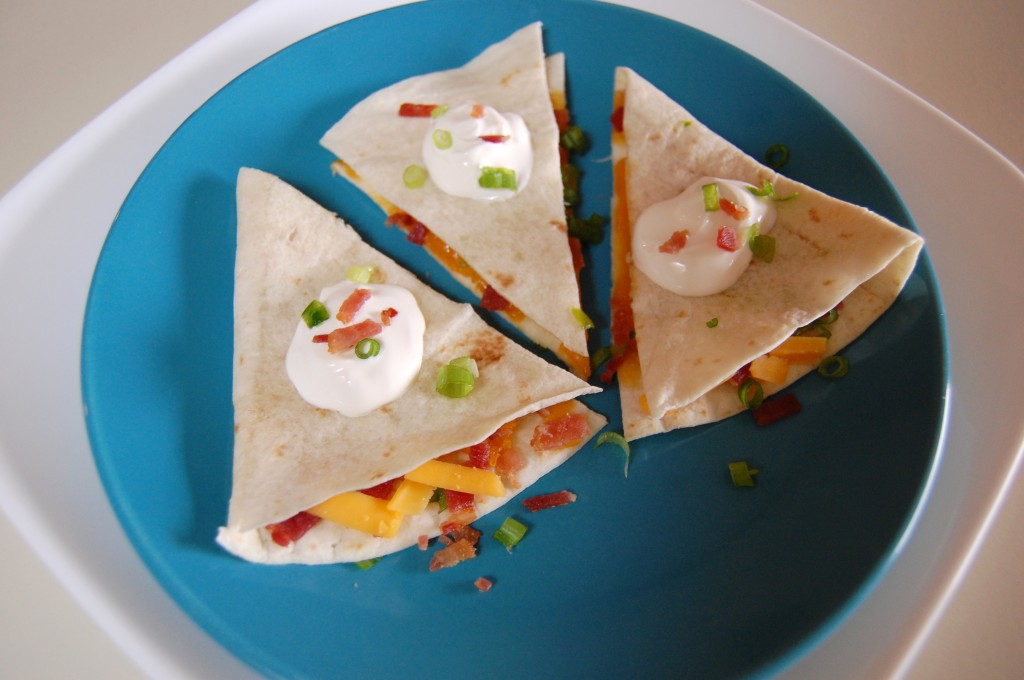 Bacon Quesadillas