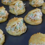 Crab Filled Cheese Puffs