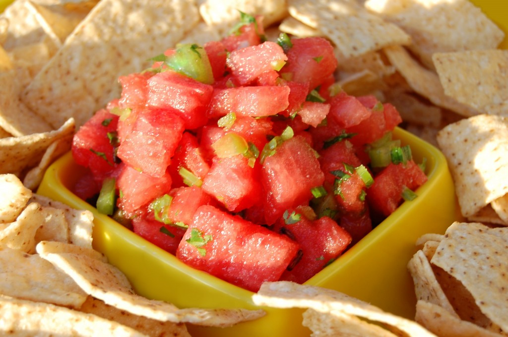 Fire & Ice Watermelon Salsa