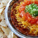 Layered Chili Cheese Dip