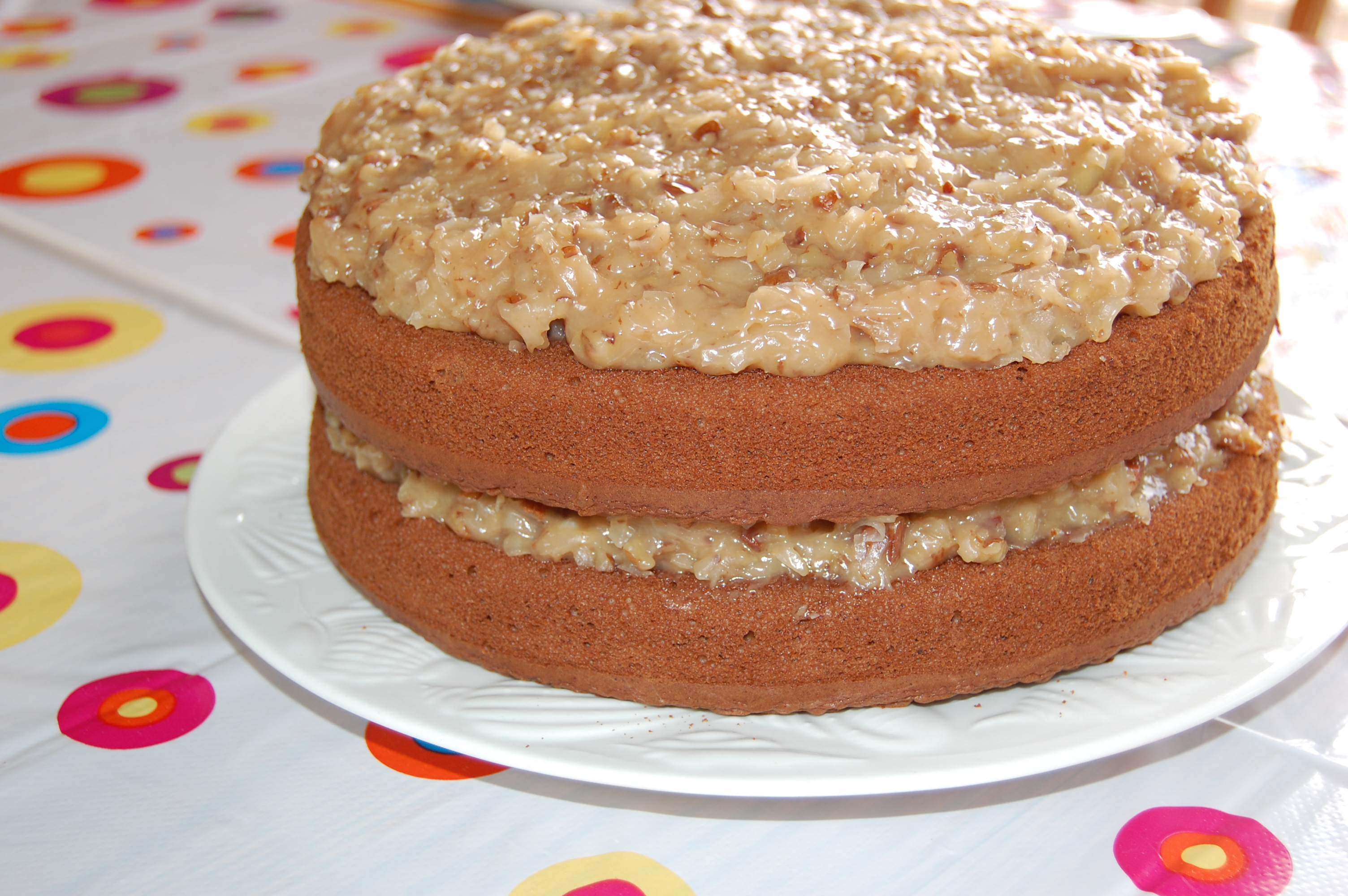 Best Ever German Chocolate Cake with Coconut Pecan Frosting ...