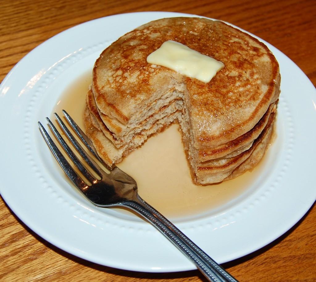 Chai Spiced Buttermilk Pancakes Recipe — Dishmaps