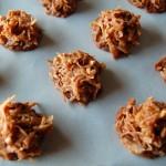 Chocolate Coconut Haystacks