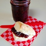 Cream Scones with Raspberry Jam