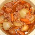 Crock Pot Roast Beef Dinner