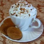 Gingersnap Hot Chocolate
