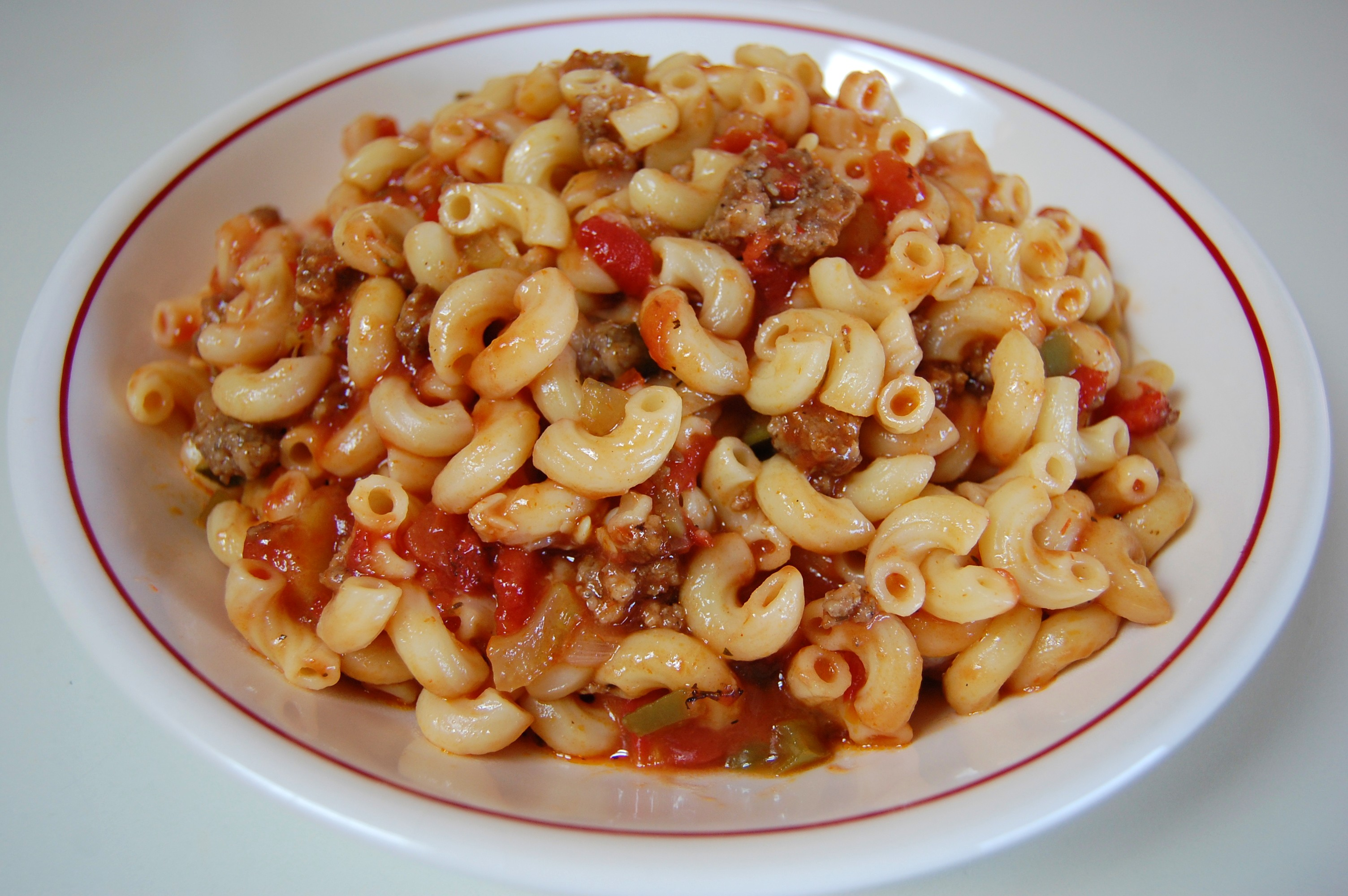 ... by Dee Hutchins-Reynozo ~ My Mama's easy recipe for classic goulash