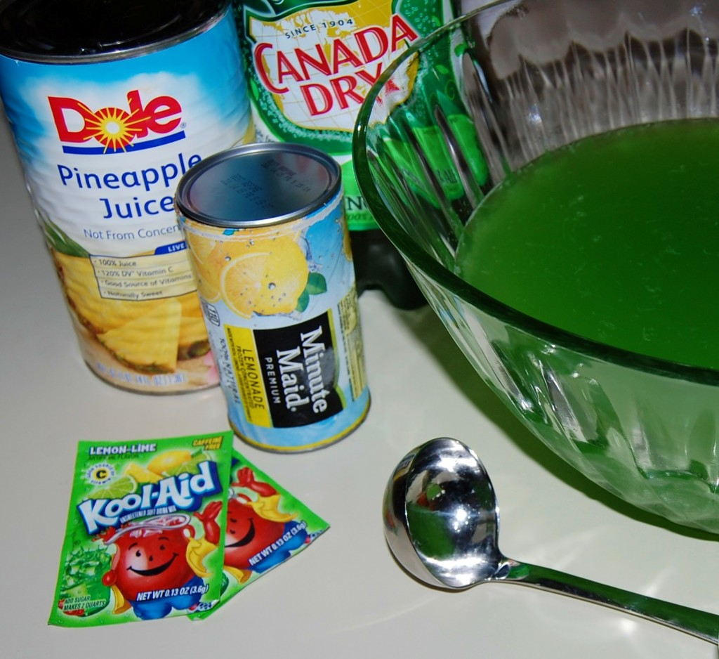 Green punch cooking mamas for Halloween green punch recipes alcoholic