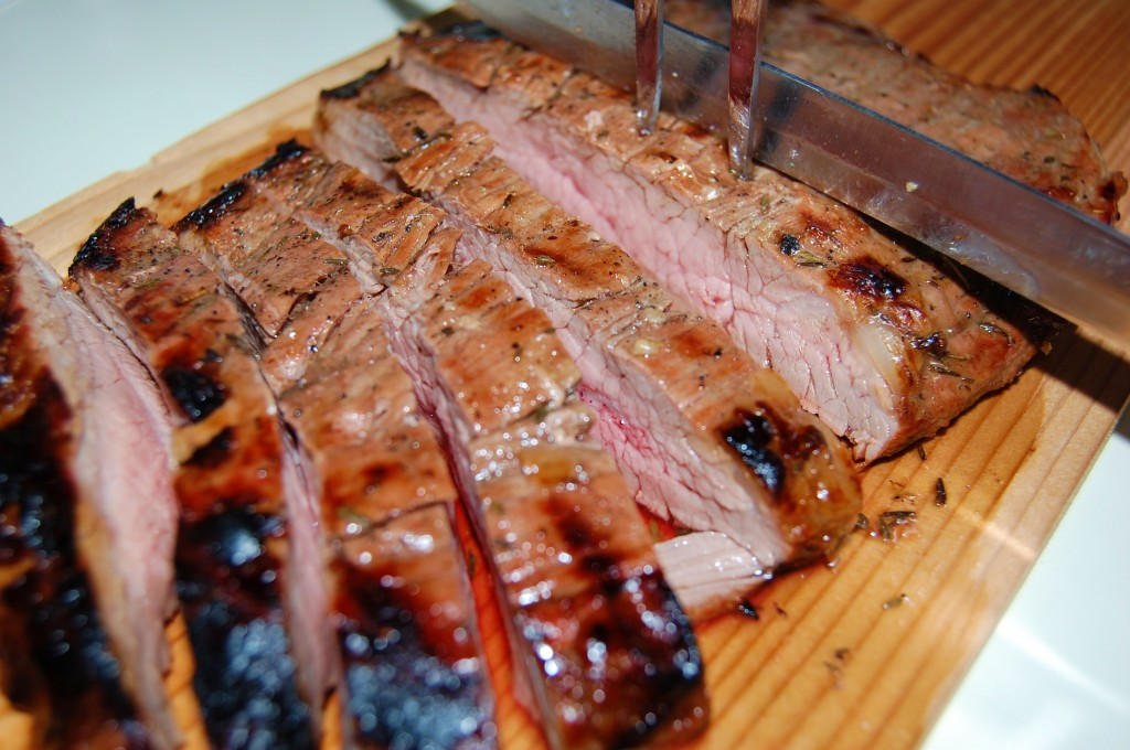 Grilled Balsamic Flank Steak | Cooking Mamas
