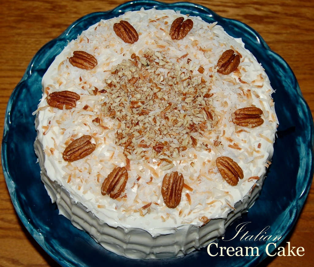 italian cream cheese cake italian cake with cheese frosting cooking mamas 5184