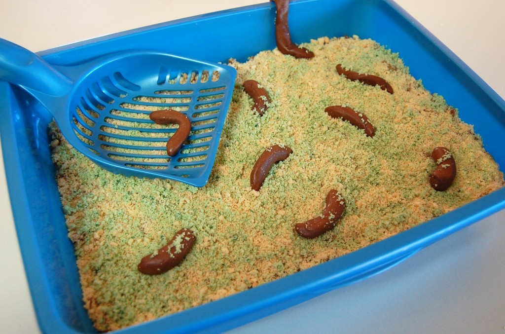 Kitty Litter Cake Image