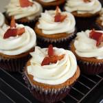 Maple Bacon Cupcakes