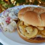 Mushroom Smothered Steak Burgers