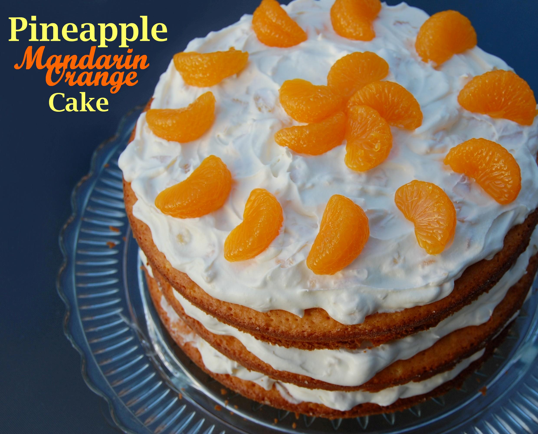 Resep Cake Ketofastosis: Mandarin Orange Cake Recipe With Pineapple Frosting