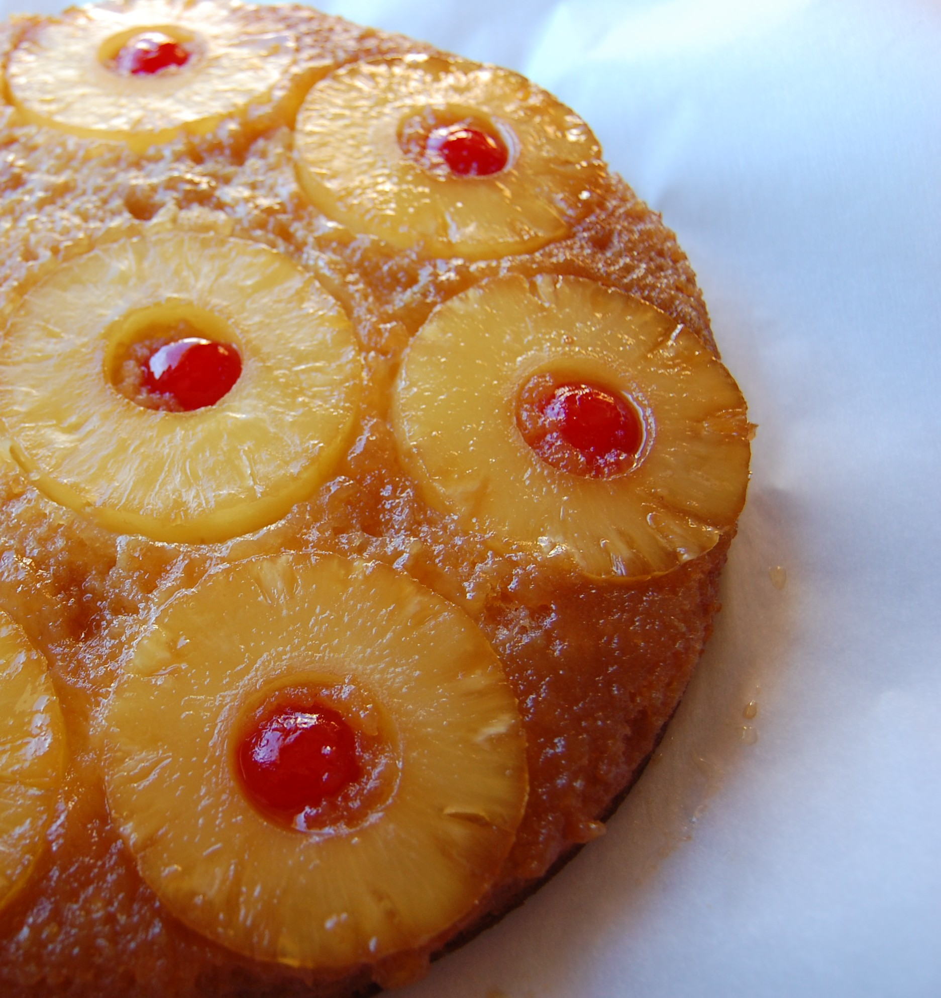 Pineapple Upside Down Cake | Cooking Mamas