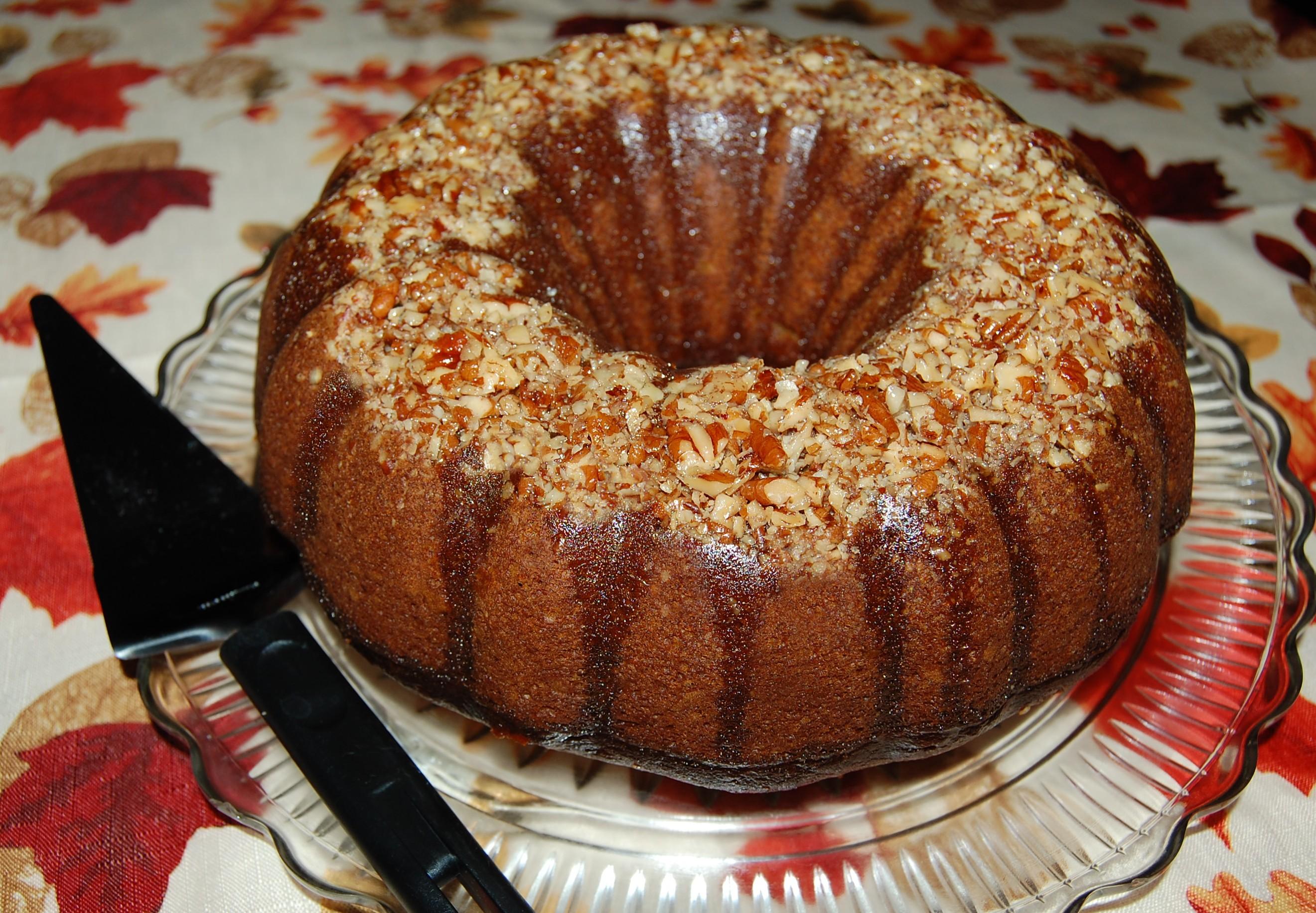 Mama S Cake Recipe Italian: Pumpkin Pecan Rum Cake