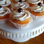 Tiramisu Cupcakes with Mascarpone Frosting