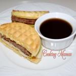 Toaster Waffle Sandwich