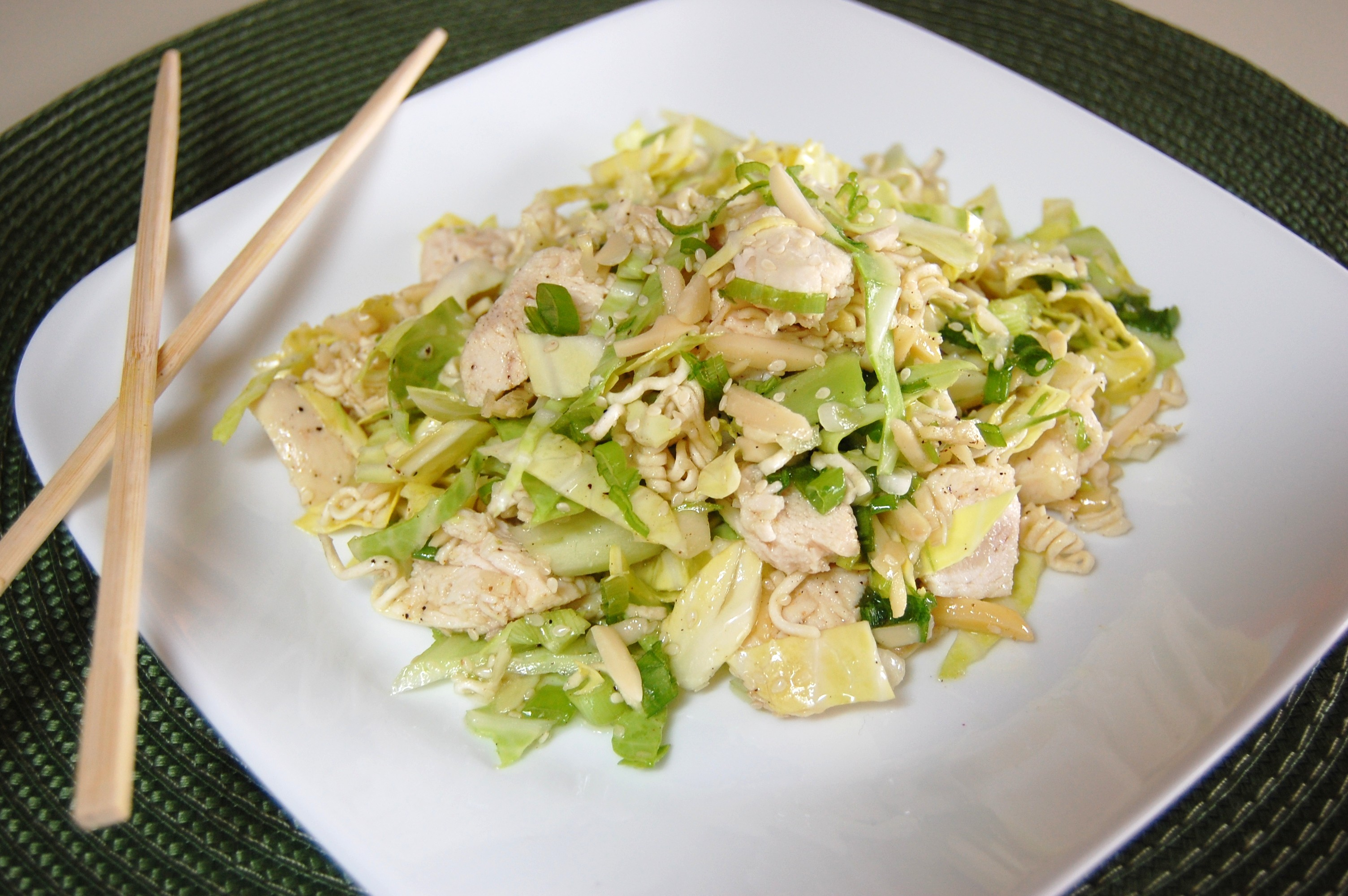 Asian Chicken Salad | Cooking Mamas