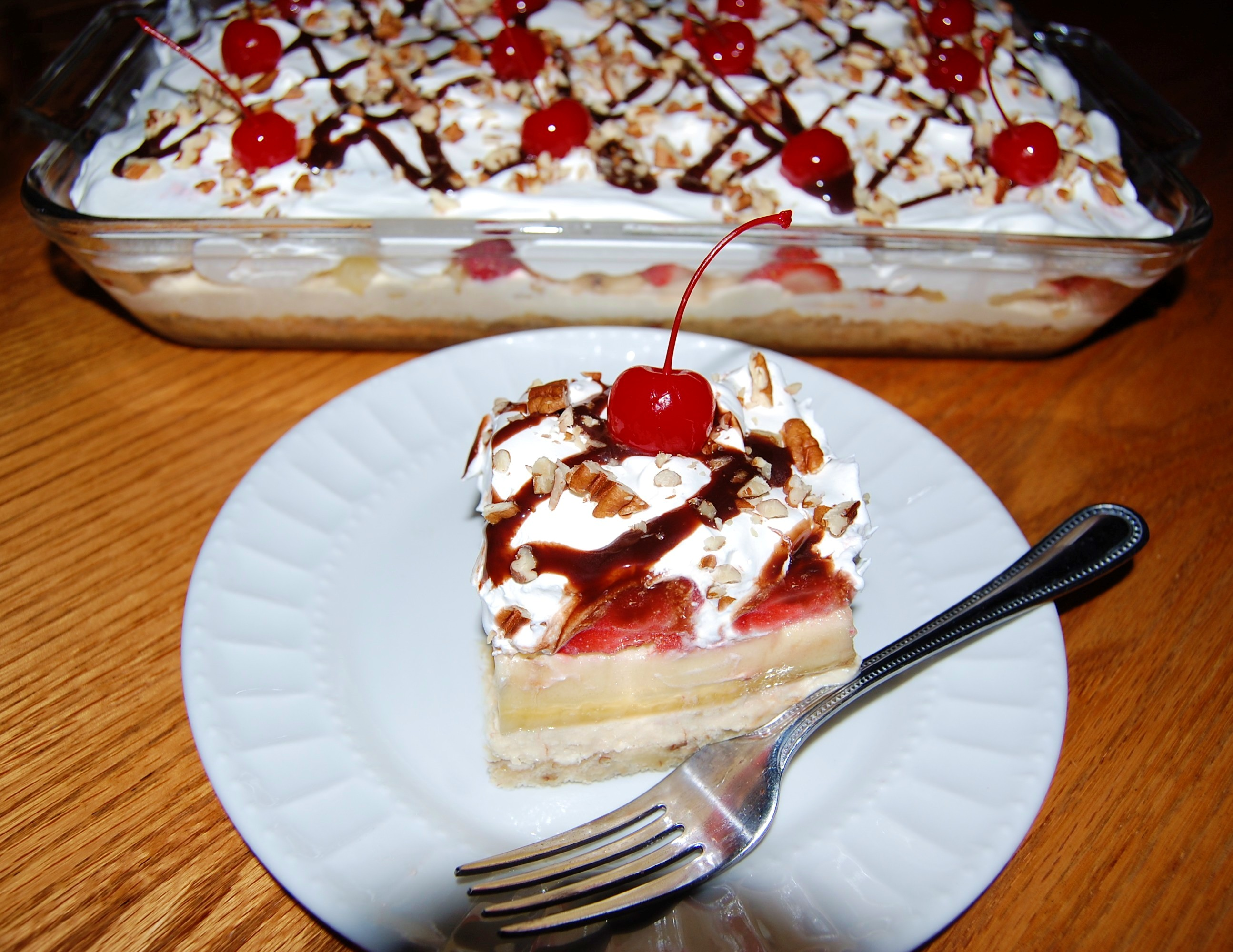 banana split dessert cooking mamas