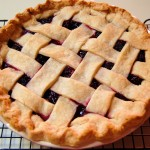 Wild Blackberry Pie