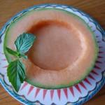 Cantaloupe Soup Bowls