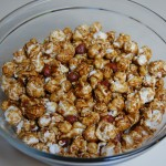 Caramel Corn and Peanuts