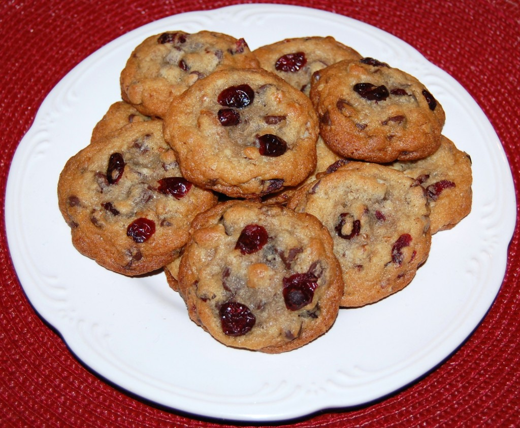 Cherry Chocolate Chip Cookies | Cooking Mamas