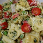 Chicken Pesto Tortellini Salad