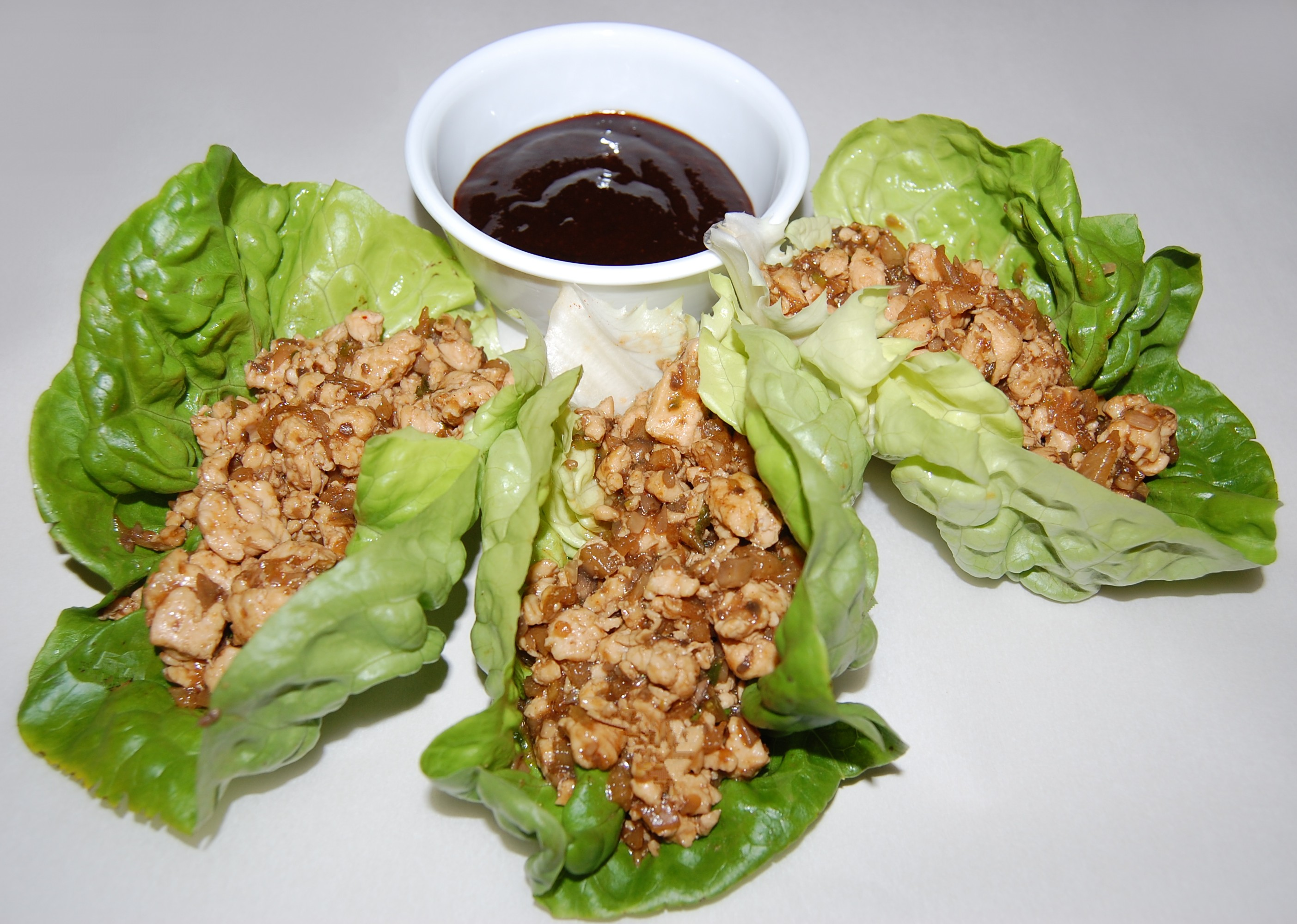Chicken Lettuce Wraps Recipe Hoisin Sauce Asian Pictures