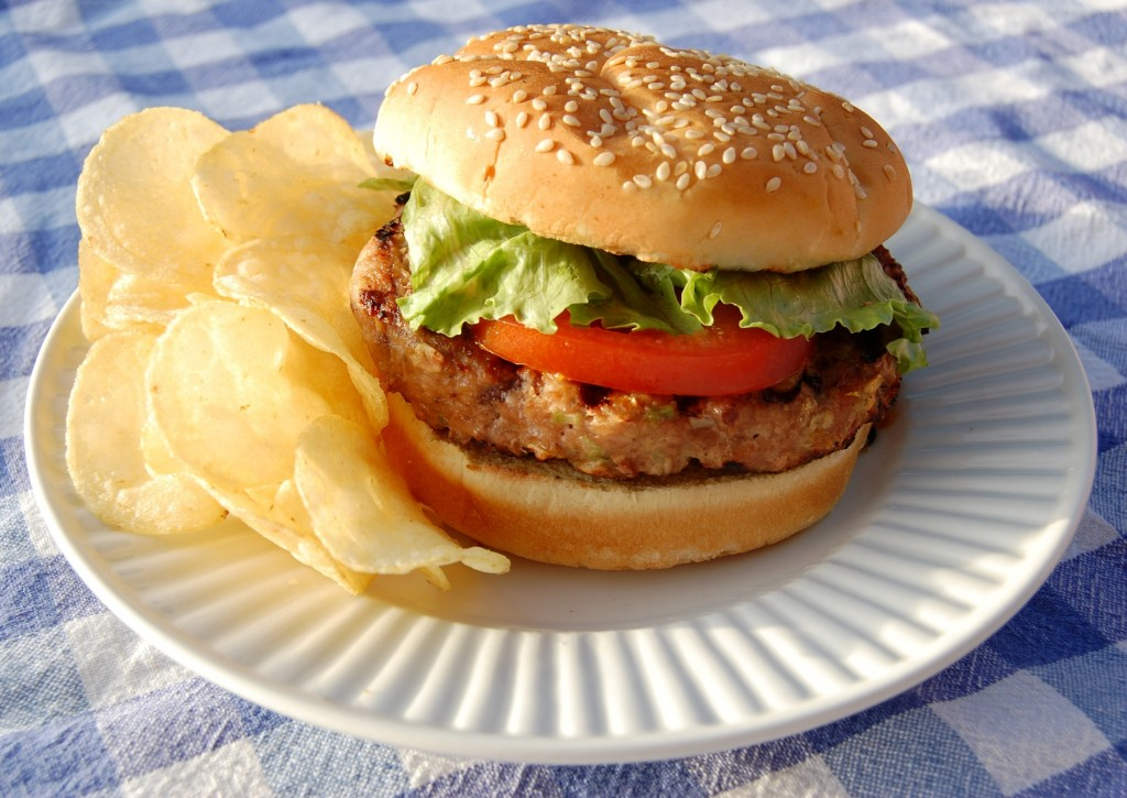 Glazed Turkey Burgers