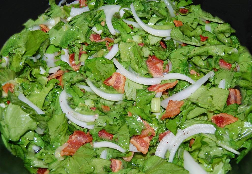 Grandmas Wilted Lettuce Salad