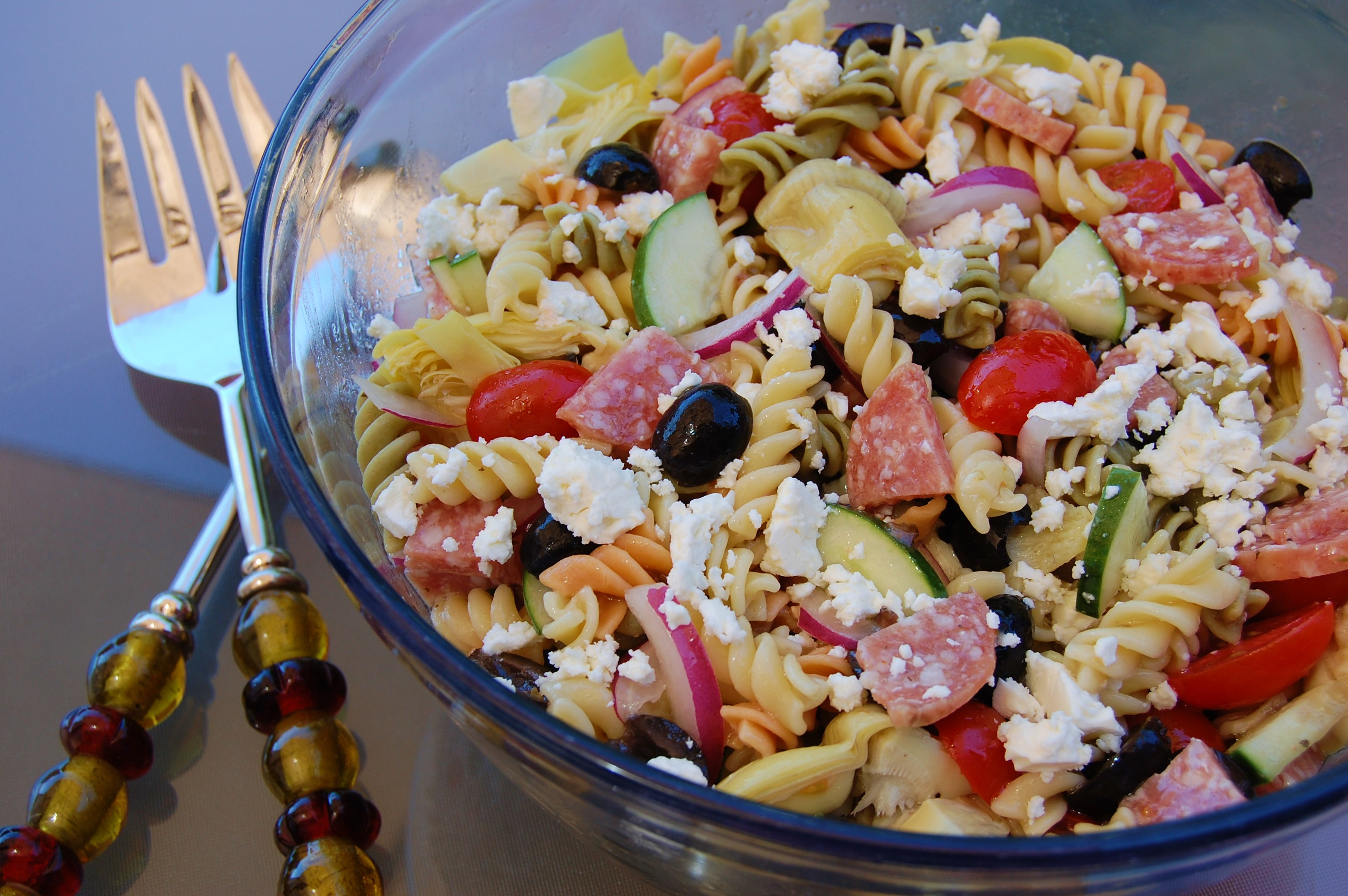 Greek Pasta Salad Recipes — Dishmaps