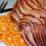 Ham with Pineapple-Orange Dijon Glaze