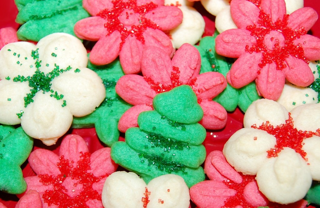 Holiday Spritz Cookies | Cooking Mamas