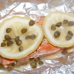 Lemon Caper Salmon Packet
