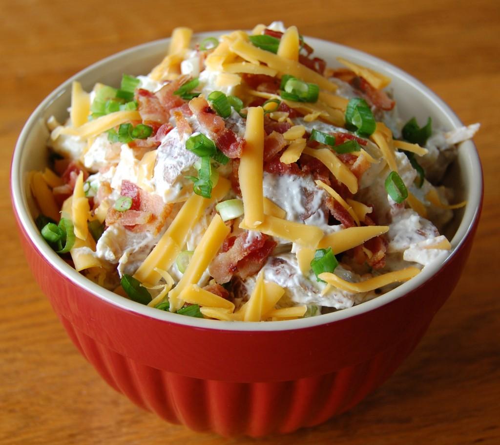 Loaded Baked Potato Salad Cooking Mamas
