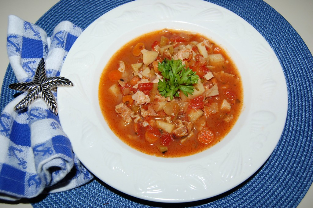 Manhattan Clam Chowder | Cooking Mamas