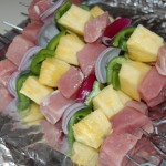 Grilled Pork & Pineapple Kebabs