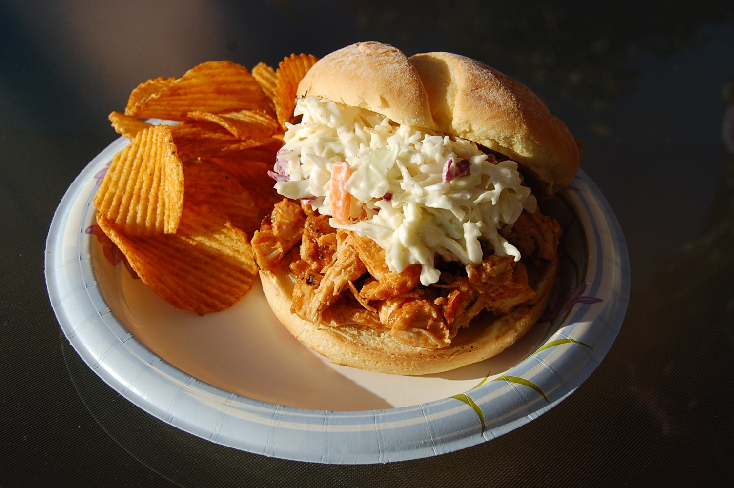 Barbecue Chicken Sandwiches With Cole Slaw Recipes — Dishmaps