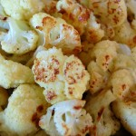 Roasted Cauliflower Florets