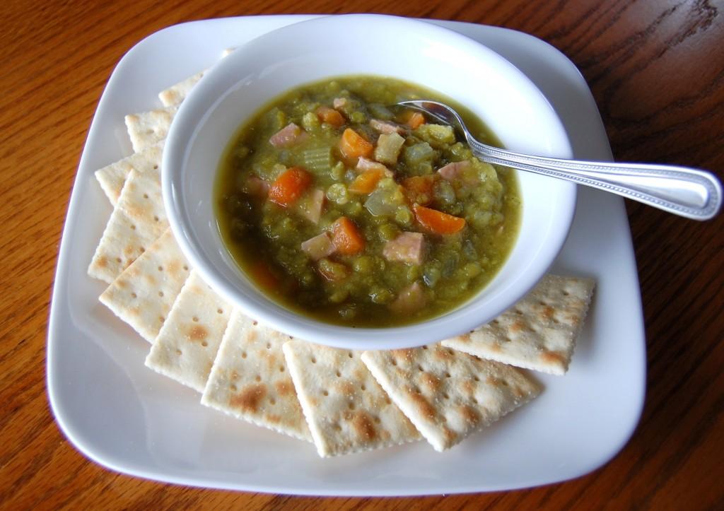 Split Pea Soup with Ham Soup