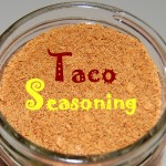 Beef Tacos with Homemade Taco Seasoning