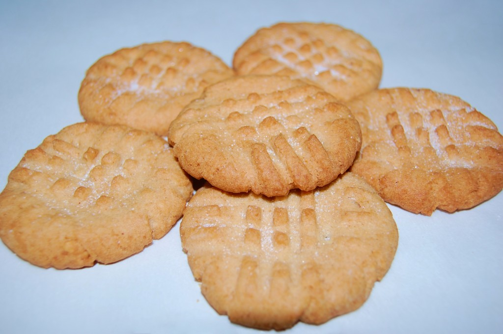 Tims Peanut Butter Cookies