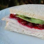 Turkey Cranberry Cream Cheese Sandwiches