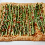 Asparagus Gruyere Tart with Prosciutto