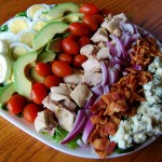 Classic Cobb Salad with Lemon Vinaigrette