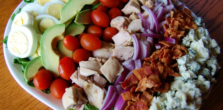 Classic Cobb Salad with Lemon Vinaigrette
