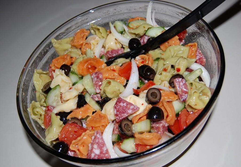 Italian Cheese Tortellini Salad Cooking Mamas