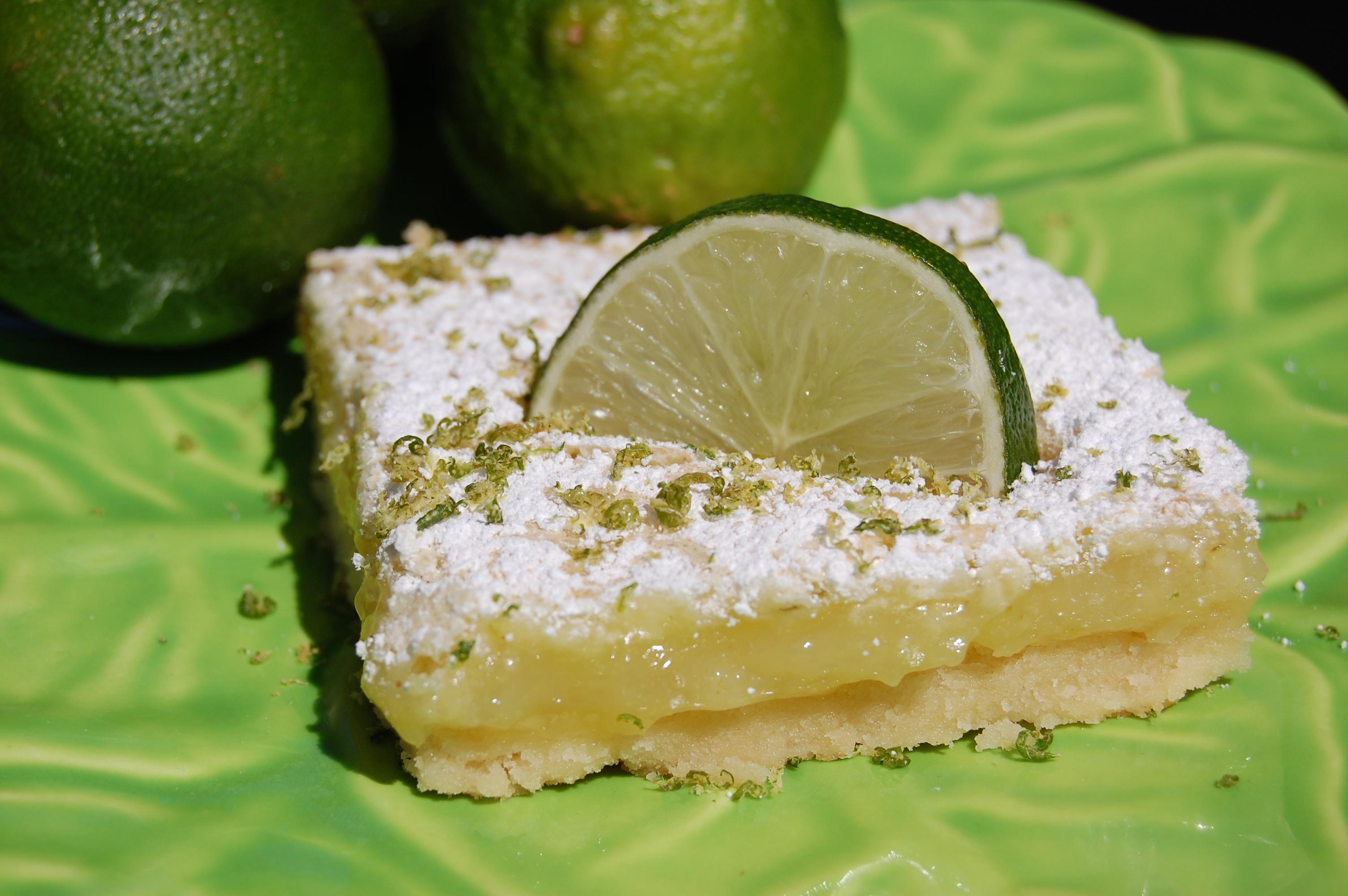 Key Lime Bars | Cooking Mamas